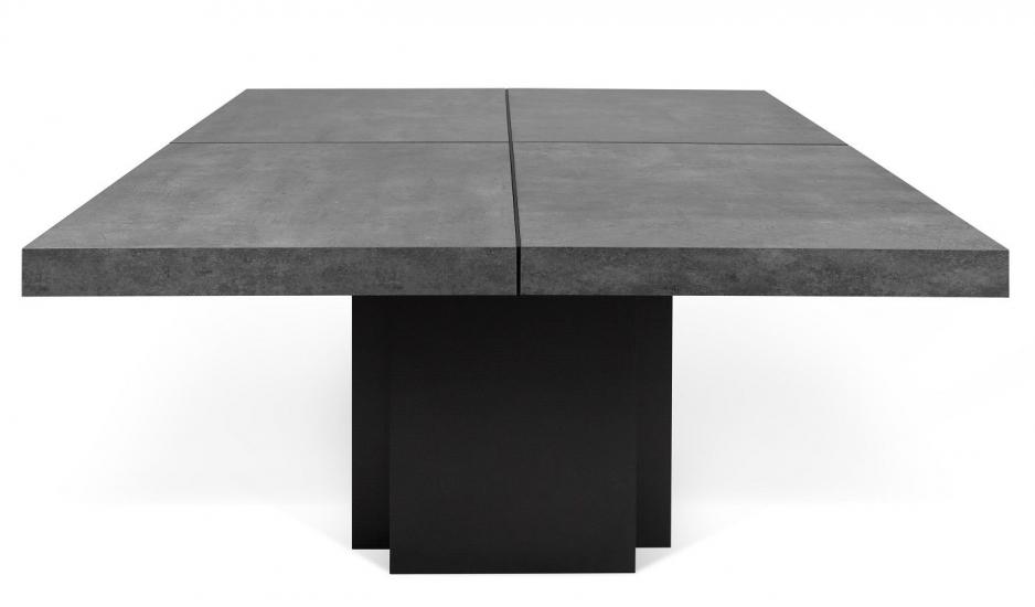 Temahome - Dusk Spisebord - Grå - 130