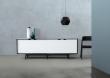 Andersen Furniture - S1 Skjenk - Svart lakk - hvite