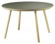 FDB Møbler D105 Gesja Sofabord - Eik/Oliven Linoleum, Ø75