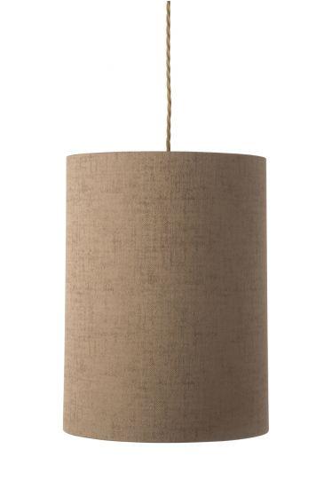 Ebb&Flow - Lampeskjerm, bronze marl, Ø30
