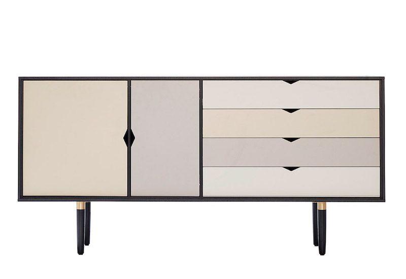 Andersen Furniture - S6 Skjenk - Svart lakk - Farge