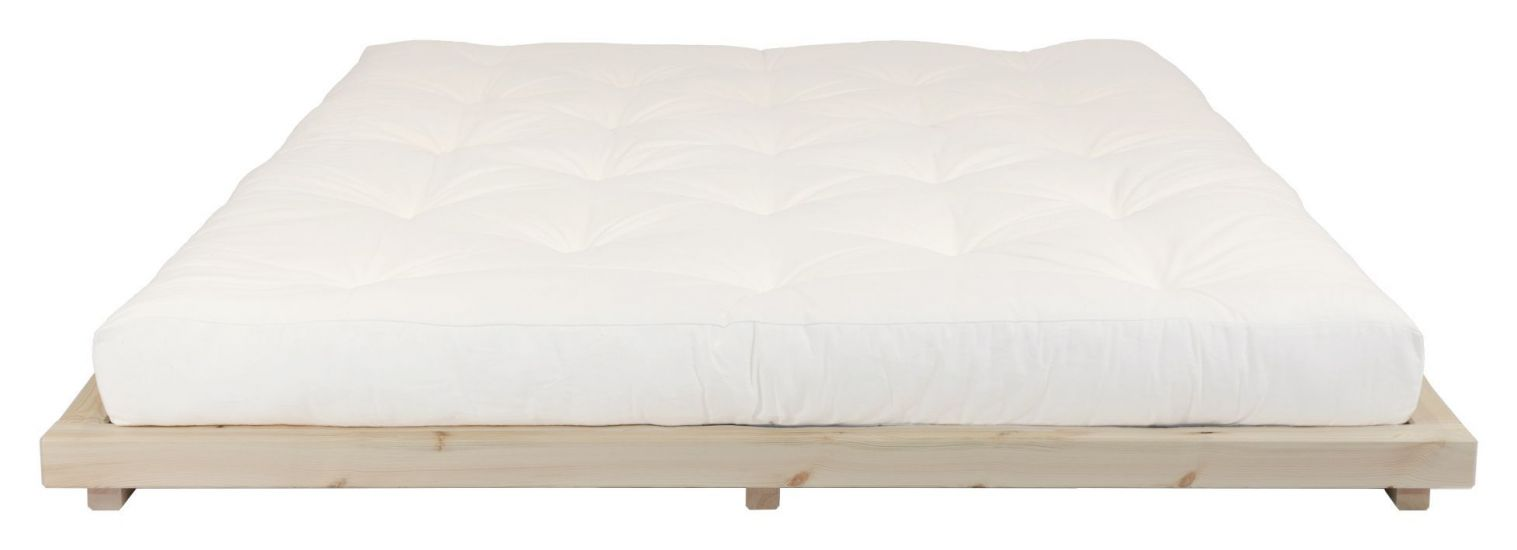 Dock Sengeramme Natur, Latex Futon madrass, Offwhite, 180x200