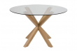 Azure Spisebord Ø119xH75,5 - Glass bordplade