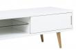 Cello TV-bord høyglans hvit - 180x45x46 cm