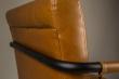 Dutchbone - Stitched Spisebordstol - Konjakk