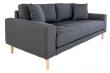 Lido 2,5-pers, Sofa - Mørkegrå