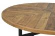 Zanzibar Spisebord, resirkulert furutre, Ø120