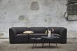 WOUD - Soround sofabord i sort eik, H44/Ø60