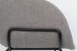 Zuiver - Feston Spisebordsstol - Grått stoff
