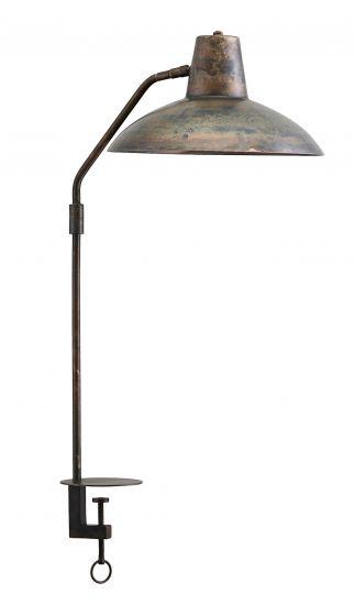 House Doctor Desk Bordlampe, Antikmetall, H70cm