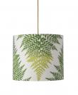 Ebb&Flow - Lampeskjerm, fern leaves graphic, grønn, Ø35
