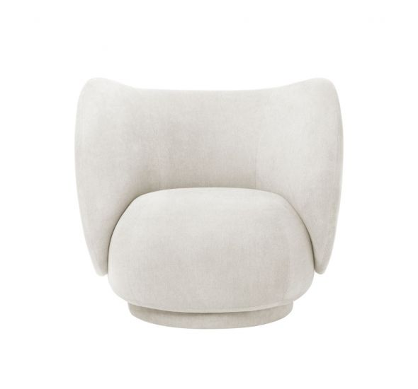 Ferm Living - Rico Loungestol - Off White