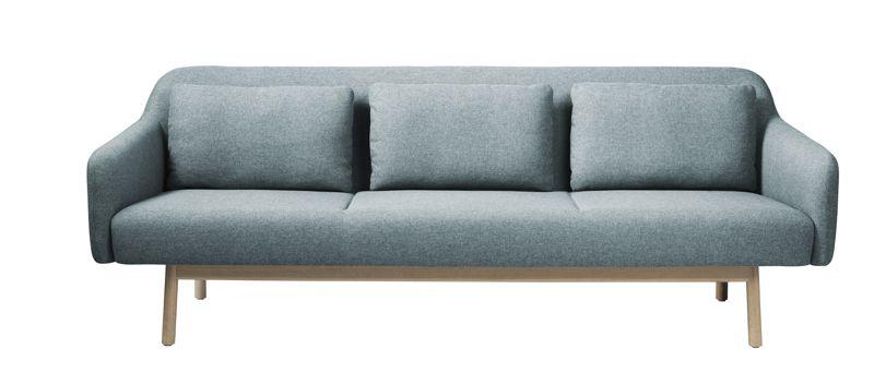 FDB Møbler - Gesja 3-seter Sofa - Petroleumblå