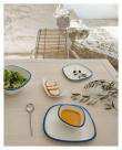 Kave Home Alen Spisebord - Hvitpigmentert Akasie, 160x90