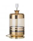 Ebb&Flow - Pillar lampefot, Gull stripes/Golden smoke, Gull base