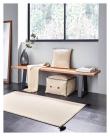 Kave Home Anahi Puf - Beige, 45x30