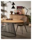 Kave Home Kristine Bordlampe - Sort