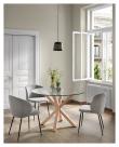 Kave Home Minna Spisebordsstol - Sort/Grå