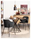 Kave Home Suanne Spisebordstol - Mørk Grå