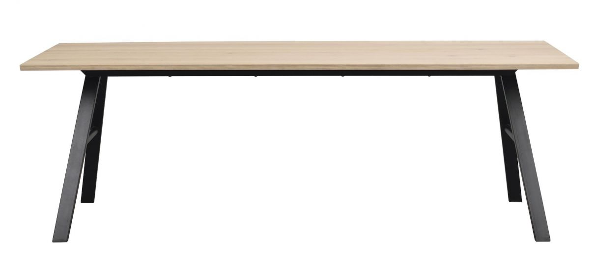 Brigham Spisebord, Hvidvasket Vildeg finér