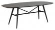Springdale Spisebord, Sort Keramikkplate L: 200