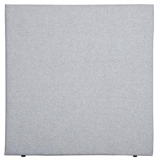 Alvik sengegavl, Lysegrå stoff, B:120