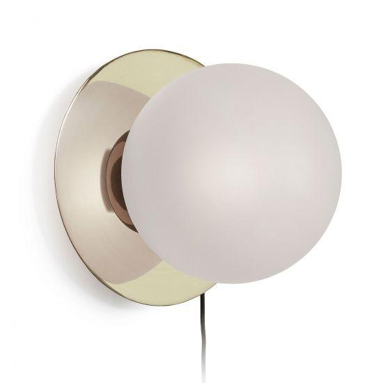 LaForma - Manz Væglampe m. frostet glas