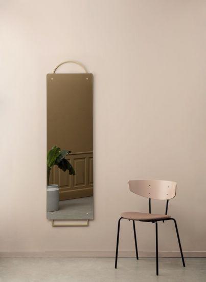 Ferm Living - Adorn Spejl 159x45 - Messing