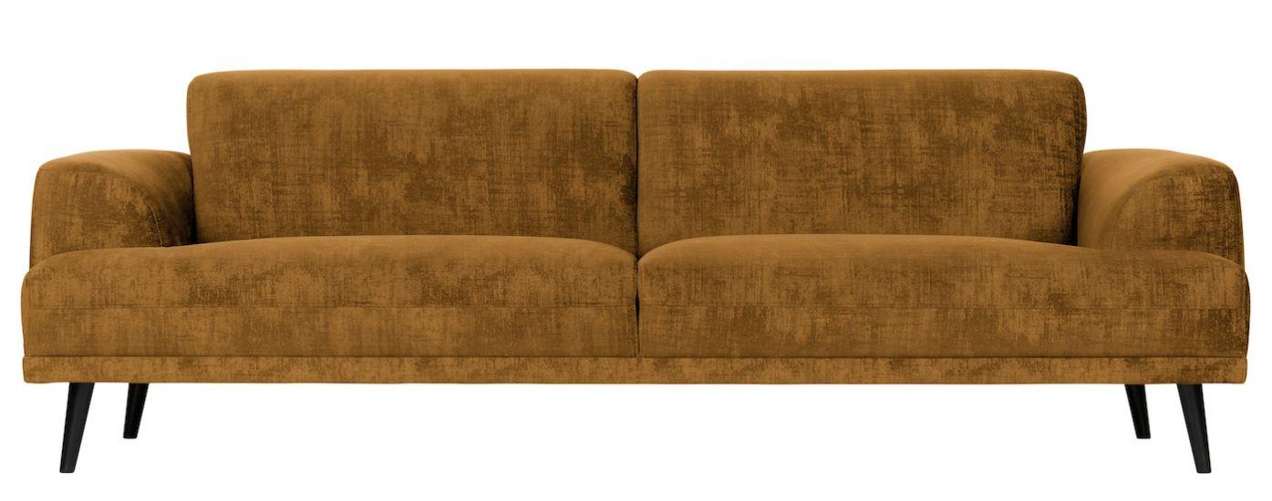 Brush 3-seter. Sofa - Okker Velur