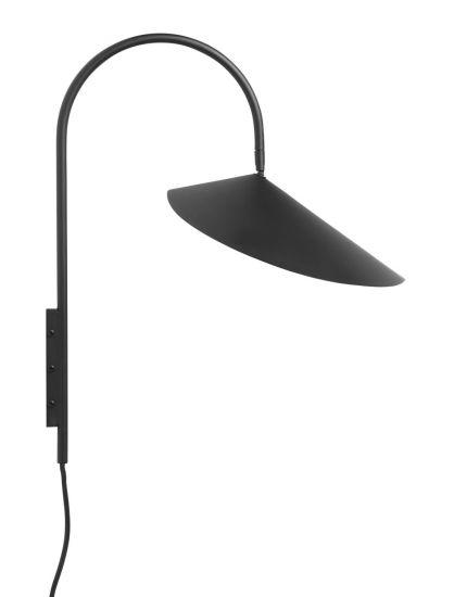 Ferm Living - Arum Væglampe - Sort