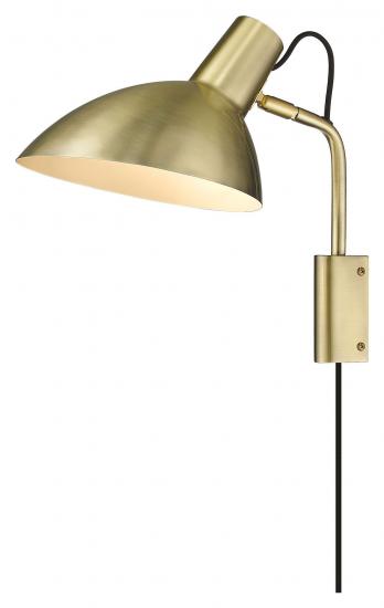 Halo Design METROPOLE Vegglampe, Messing