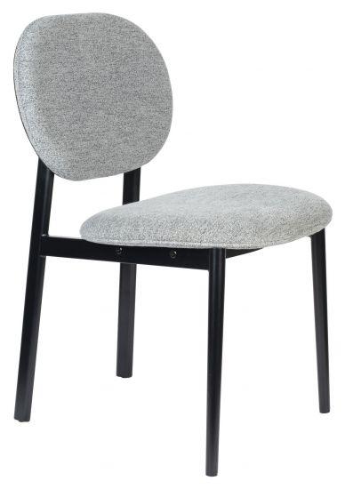 Zuiver Spike Spisebordstol - Grå/Sort