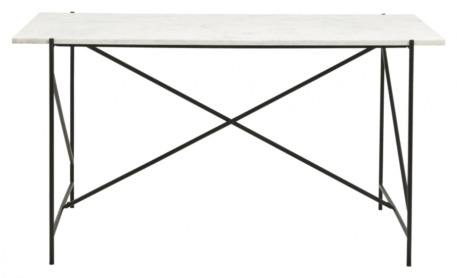 Nordal Dee Skrivebord - Hvit Marmor