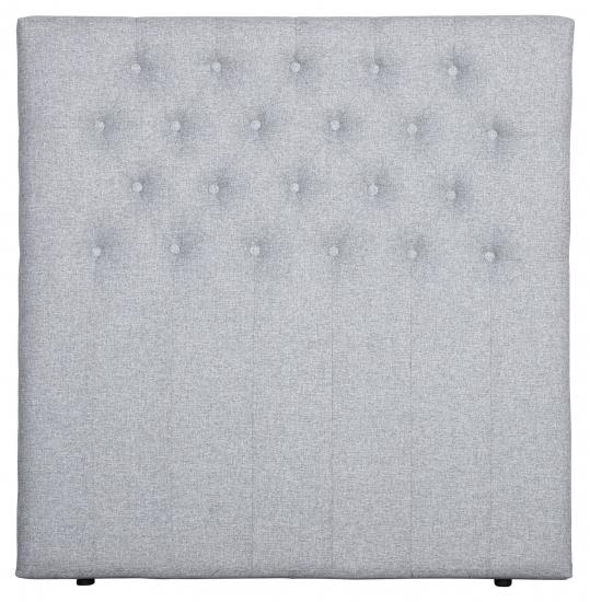 Furuvik sengegavl, Lysegrå stoff, B:120
