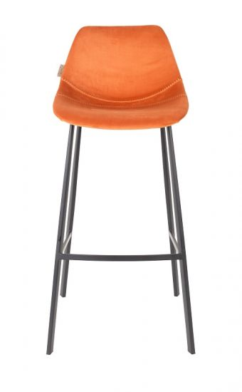 Dutchbone - Franky Barstol - Oransje fløyel