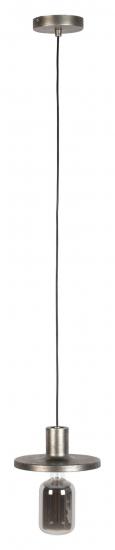 Zuiver Skye Pendel - Antikk Sølvfarget/glass