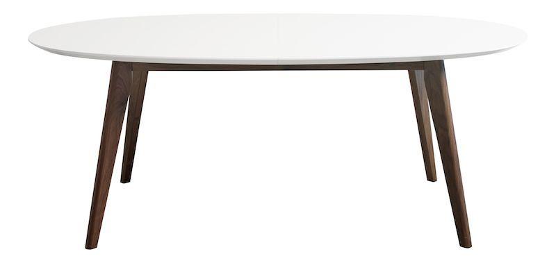 Andersen Furniture - DK10 Spisebord - Oval m. svarte ben