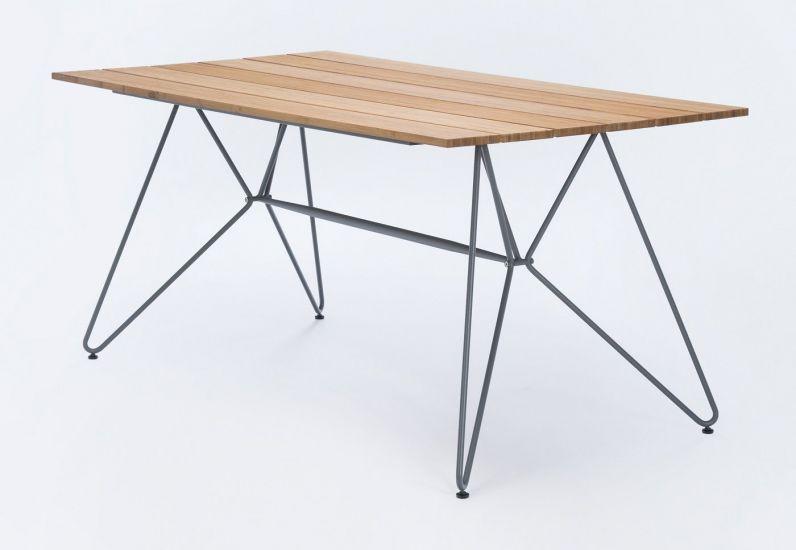 HOUE - SKETCH Hagebord 160x88 - Bambus/Metall