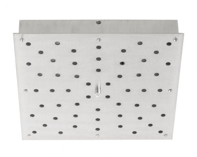 Ebb&Flow - Ceiling box, square, M, Sølv