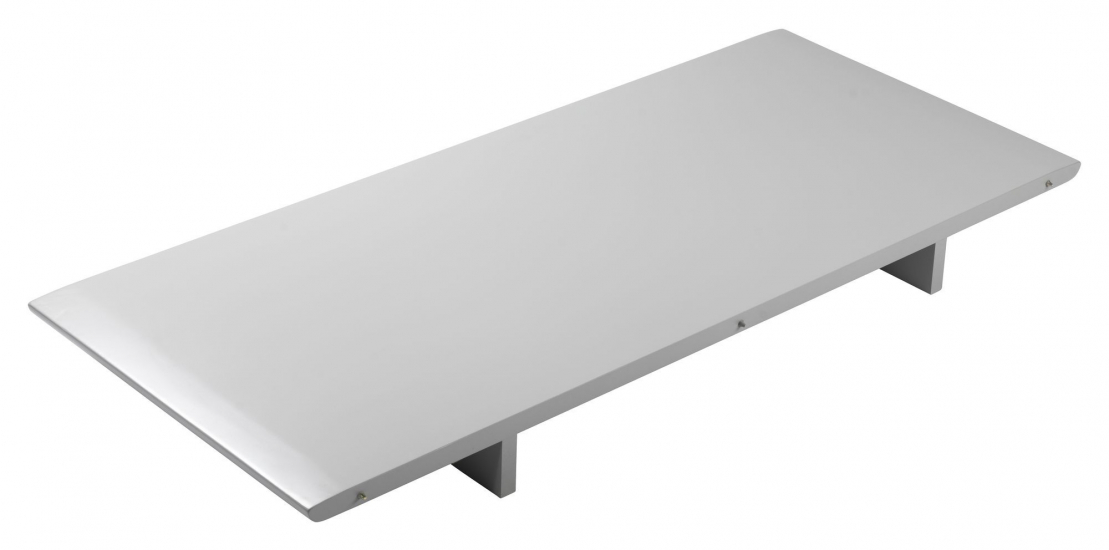 FDB Møbler C62E Bjørk Tilleggsplate - Grå, 115x50