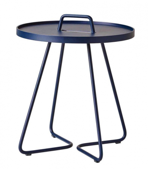 Cane-line - On-the-move Sidebord - Midnight blue
