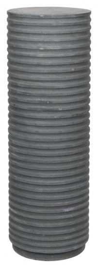 Rillo Podie Sidebord - Fiberbetong Charcoal, Ø36