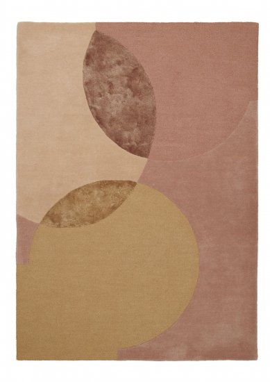 Linie Design Caldera Teppe - Mustard, 170x240