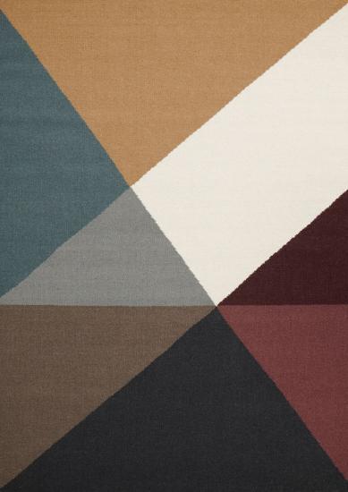 Linie Design Metri Teppe - Mustard, 170x240