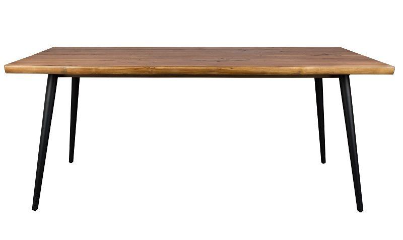 Dutchbone - Alagon Spisebord 160x90 - Svarte ben