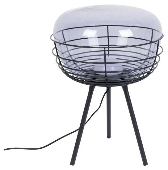 Zuiver  Smokey Bordlampe - Sort