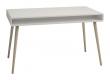 Softline Skrivebord bred med 2 skuffer, Hvit