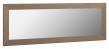 Kave Home Yvaine Speil m. Walnut bred ramme, 80,5x180,5