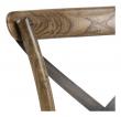 Vintage Spisebordsstol m. Rattan sete - Hardwood