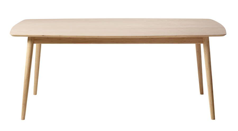 Cinas - Noble Spisebord - massiv bambus